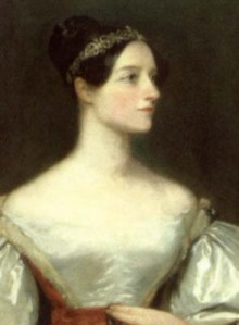 Ada Lovelace.  1815 - 1852
